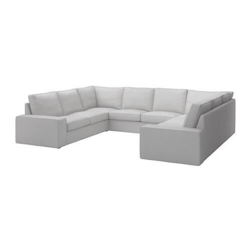 Kivik U Shaped Sofa 6 Seat