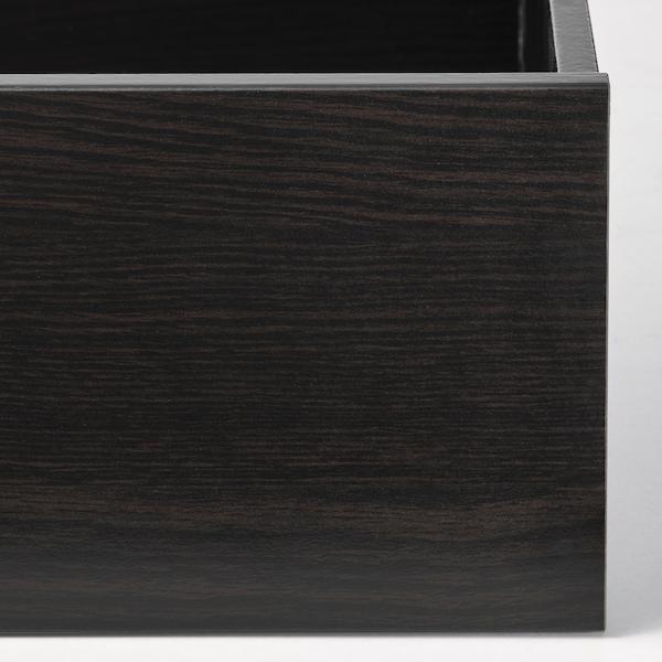 KOMPLEMENT Drawer, black-brown, 100x58 cm