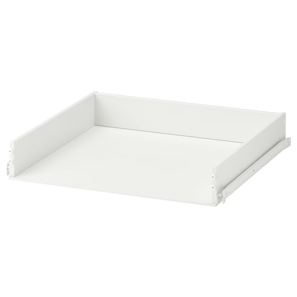 KONSTRUERA Drawer without front, white, 15x60 cm