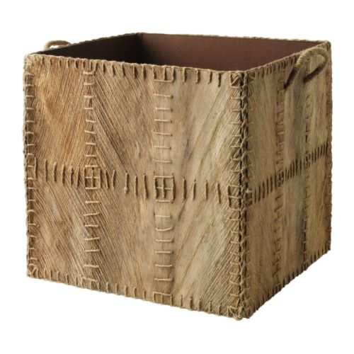 KOTTEBO Basket   Perfect for newspapers, photos or other memorabilia.  Easy to pull out and lift as the box has handles.