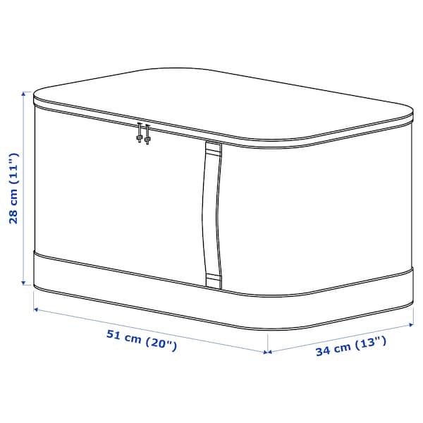 LACKISAR حقيبة تخزين, 34x51x28 سم