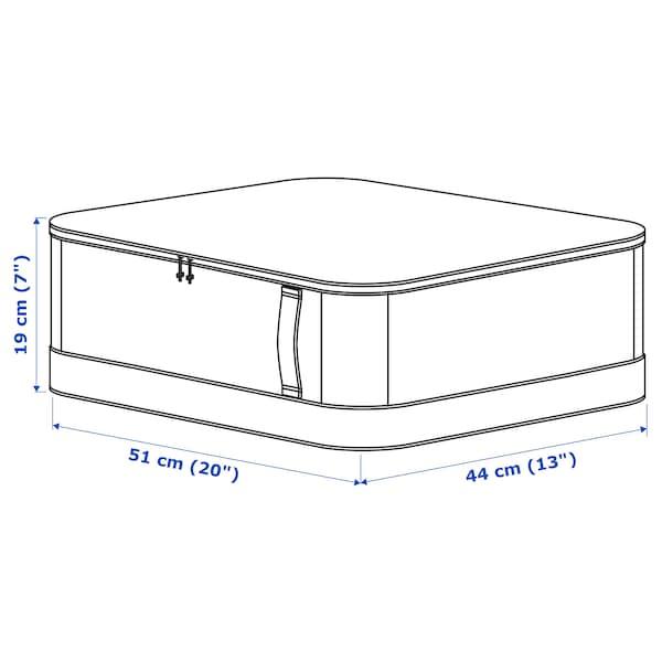 LACKISAR Storage case, 44x51x19 cm