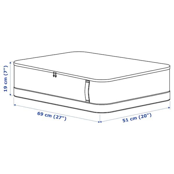 LACKISAR Storage case, 69x51x19 cm