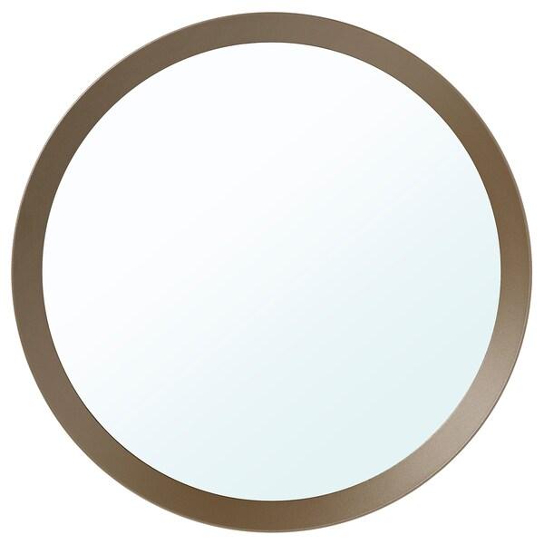LANGESUND Mirror, beige, 50 cm