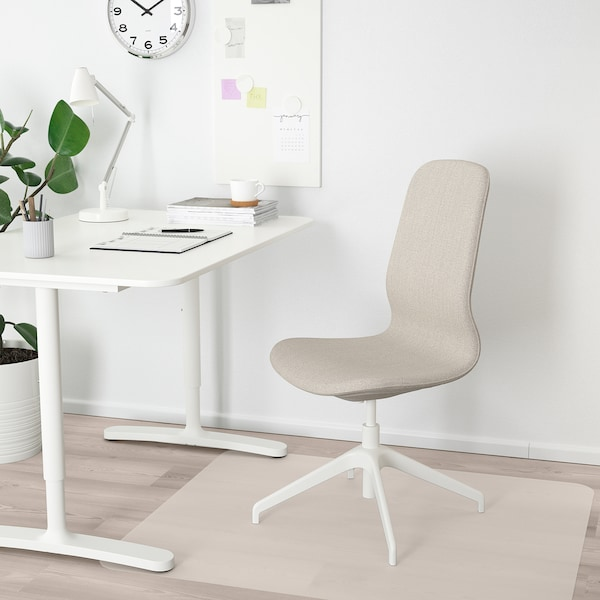 LÅNGFJÄLL كرسي مؤتمرات, Gunnared بيج/أبيض