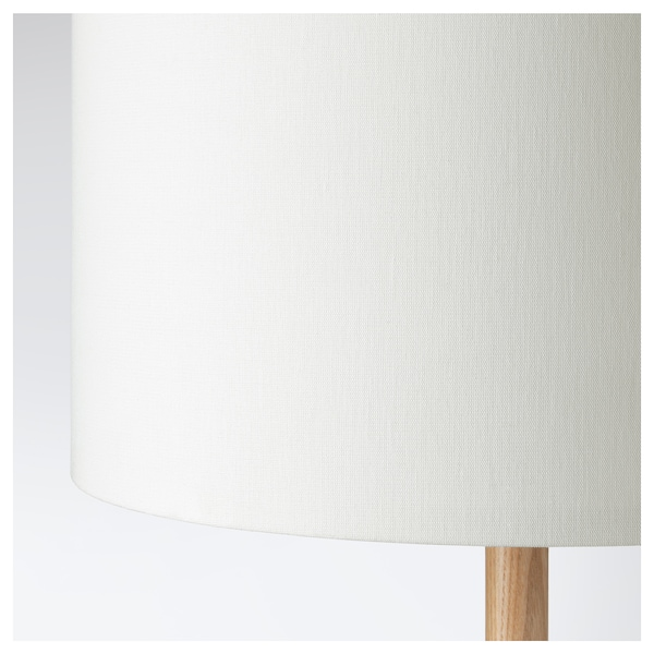 LAUTERS Floor lamp, ash/white