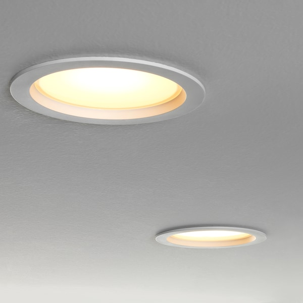 LEPTITER LED recessed spotlight, dimmable/white spectrum