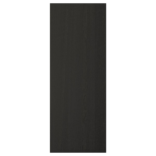 LERHYTTAN Cover panel, black stained, 39x105 cm