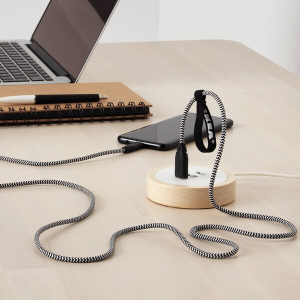LILLHULT USB type C to USB cord, 1.5 m