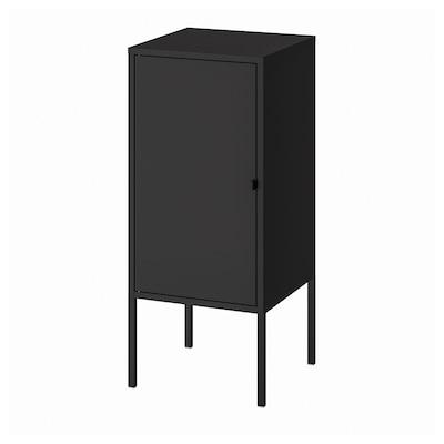 LIXHULT خزانة, معدن/فحمي, 35x60 سم
