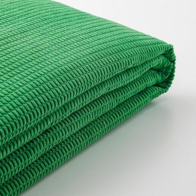 LYCKSELE غطاء كنبة سرير ومقعدين, Vansbro أخضر ساطع