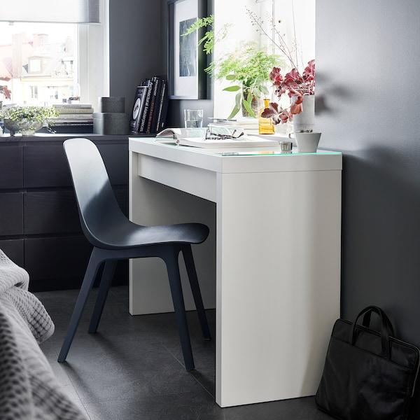 MALM Dressing table, white, 120x41 cm