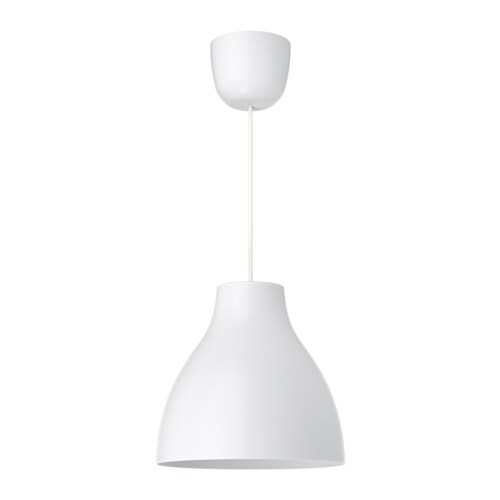 MELODI Pendant lamp   Gives a directed light; good for lighting up for example dining tables or bar tops.