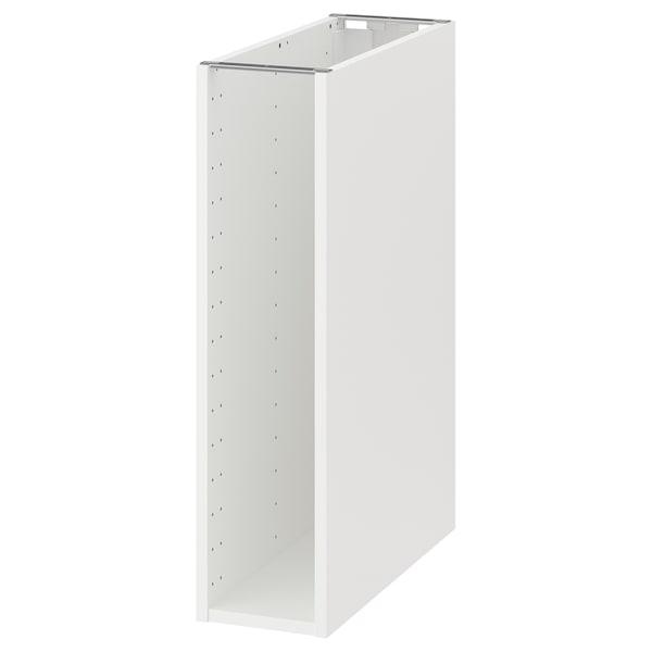 METOD اطار خزانة قاعدية, أبيض, 20x60x80 سم