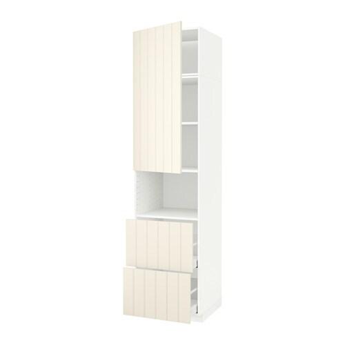 Metod Maximera Hi Cab F Micro W Door2 Drawers White Hittarp Off White