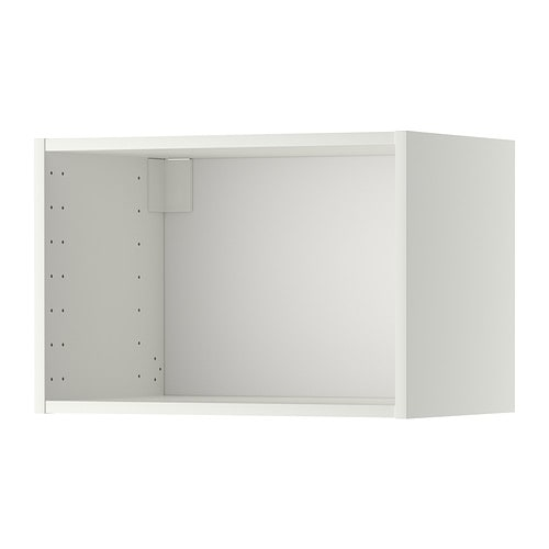 metod wall cabinet frame white 60x37x40 cm ikea. Black Bedroom Furniture Sets. Home Design Ideas