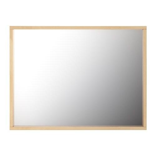 Großartig MOLGER Mirror - dark brown - IKEA QZ37