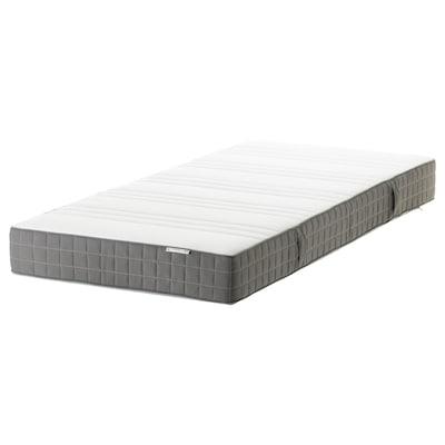 MORGEDAL Latex mattress, medium firm/dark grey, 90x200 cm