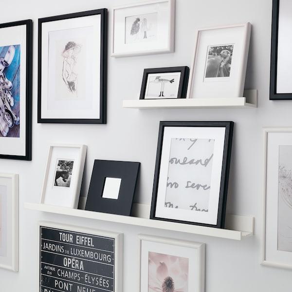 MOSSLANDA Picture ledge, white, 55 cm