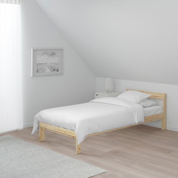 NEIDEN هيكل سرير, صنوبر/Luroy, 90x200 سم