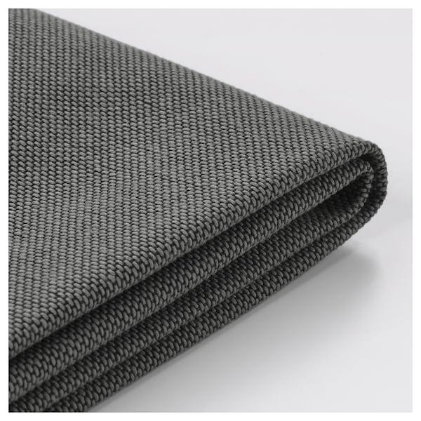NORSBORG Cover for corner sofa, 5-seat, Finnsta dark grey