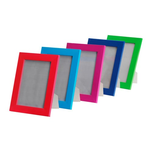 NYTTJA Frame   Front protection in durable plastic makes the frame safer to use.