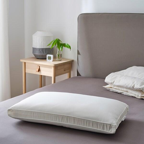 PRAKTVÄDD Ergonomic pillow, side sleeper, 41x70 cm