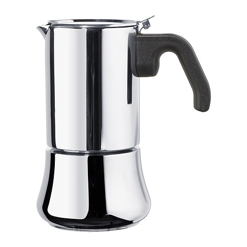RÅDIG Espresso maker for 6 cups