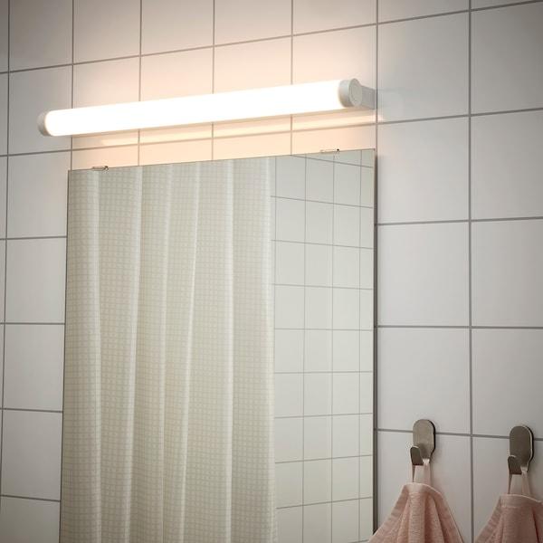 RAKSTA LED wall/mirror lamp, white, 60 cm
