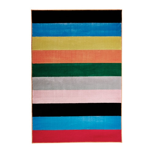 RANDERUP Rug, low pile   Durable, stain resistant and easy to care for since the rug is made of synthetic fibres.