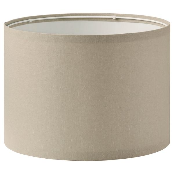 RINGSTA lamp shade beige 33 cm 24 cm