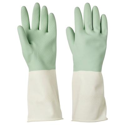 RINNIG قفازات للتنظيف, أخضر, S