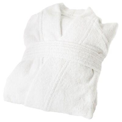 ROCKÅN روب حمّام, أبيض, L/XL