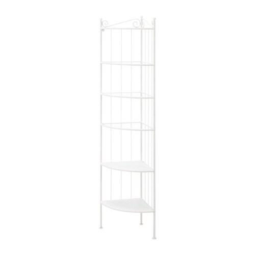 R nnsk r corner shelf unit white ikea - White bathroom corner shelf unit ...