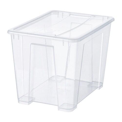 Samla Box Ikea : samla box with lid 39x28x28 cm 22 l ikea ~ Watch28wear.com Haus und Dekorationen
