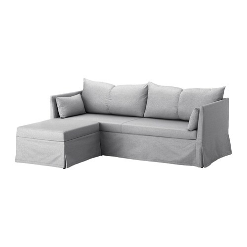 SANDBACKEN Corner Sofa, 3 Seat IKEA You Sit Comfortably Thanks To The  Resilient Foam