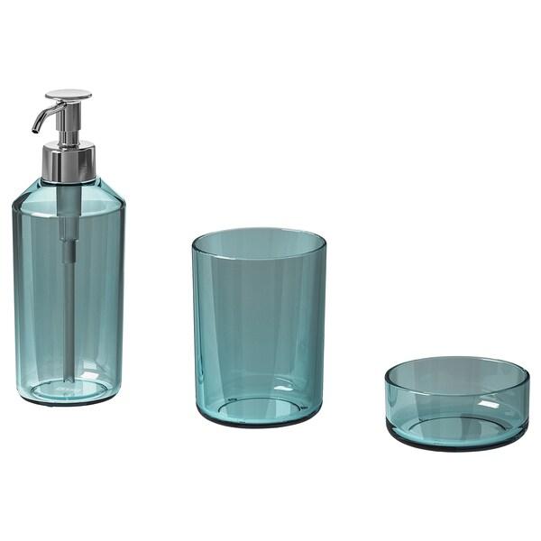 SKISSEN 3-piece bathroom set