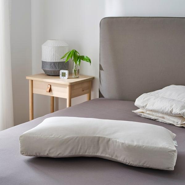SKOGSLÖK Ergonomic pillow, multi position, 40x75 cm