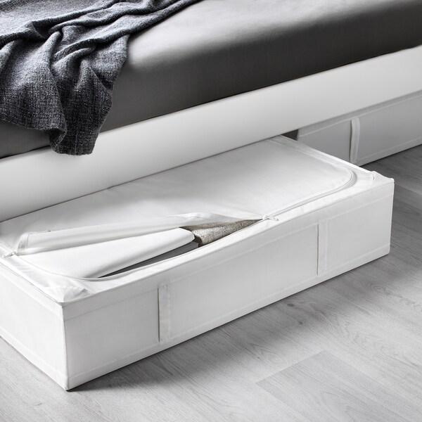 SKUBB حقيبة تخزين, أبيض, 93x55x19 سم