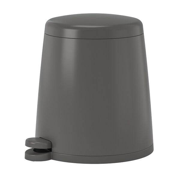SNÄPP Pedal bin, grey, 12 l