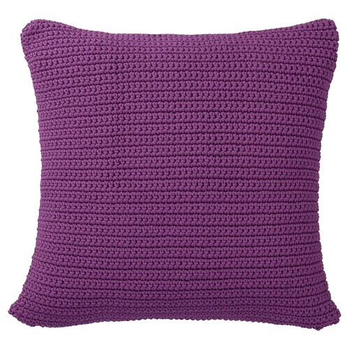 SÖTHOLMEN cushion cover, in/outdoor purple 50 cm 50 cm