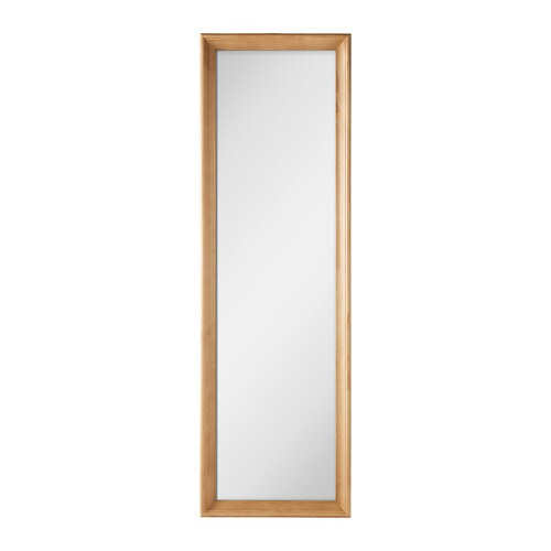 STABEKK Mirror   Made of solid wood, which is a hardwearing and warm natural material.