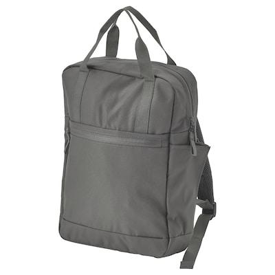 STARTTID Backpack, grey, 27x9x38 cm/12 l