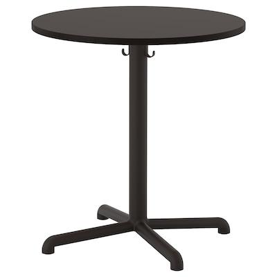 STENSELE Table, anthracite/anthracite, 70 cm