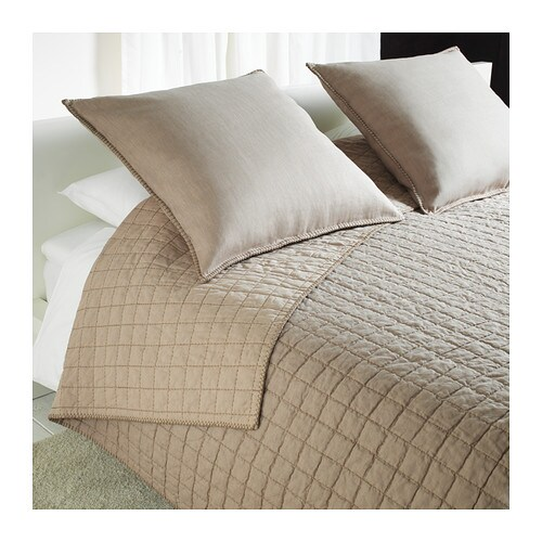 STRANDVETE Bedspread and 2 cushion covers