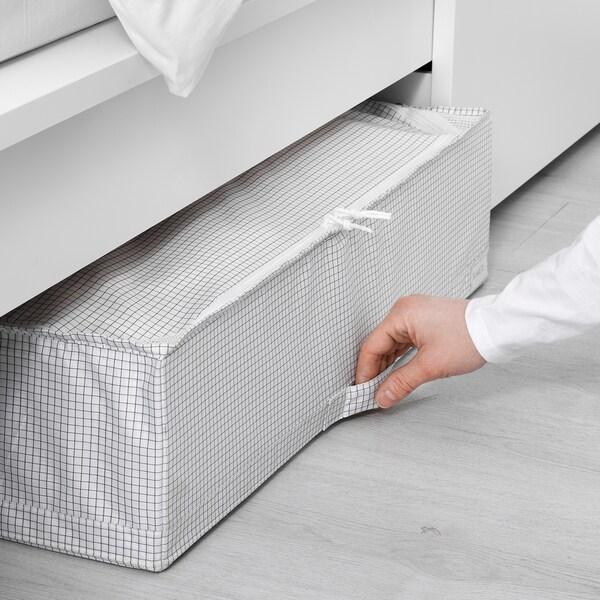 STUK Storage case, white/grey, 71x51x18 cm