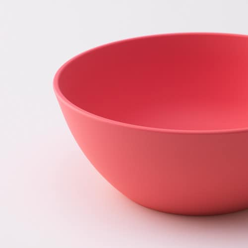 TALRIKA Bowl   Made of renewable plastic, a more sustainable option than plastic from sources like fossil oil.