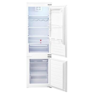 TINAD Integrated fridge/freezer A++, white, 210/79 l