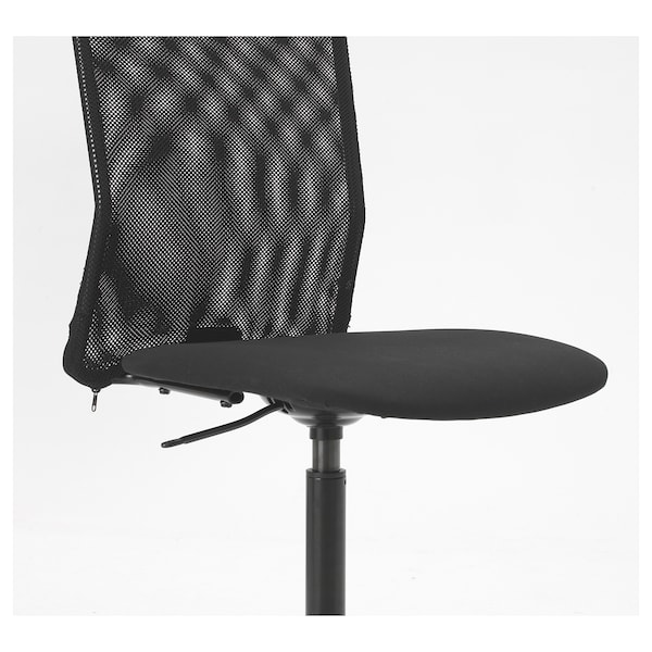 TOBERGET كرسي دوّار, Vissle أسود