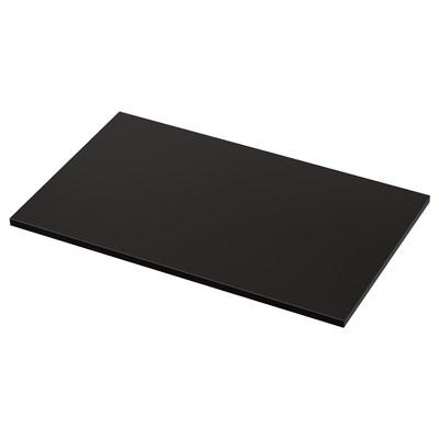 TOLKEN Countertop, anthracite, 82x49 cm